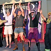 (Brad Davis/The Register-Herald) The winners of the lip-sync battle during the annual Hunks in Heels fundraising event for the Women's Resource Center Friday night at the Beckley Moose Lodge.