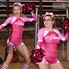 (Brad Davis/The Register-Herald) Indy cheerleaders perform Friday night in Hinton.