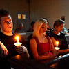 (Brad Davis/The Register-Herald) Vigil for peace and unity at St. Stephens Episcopal Wednesday night.