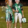Ashley Fridley and Tristian Coots are crowned Fayetteville's homecoming queen and king. Chad Foreman for the Register-Herald.