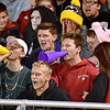 (Brad Davis/The Register-Herald) PikeView students, some in halloween costumes, get rowdy during their game against Nicholas County Friday night in Gardner.