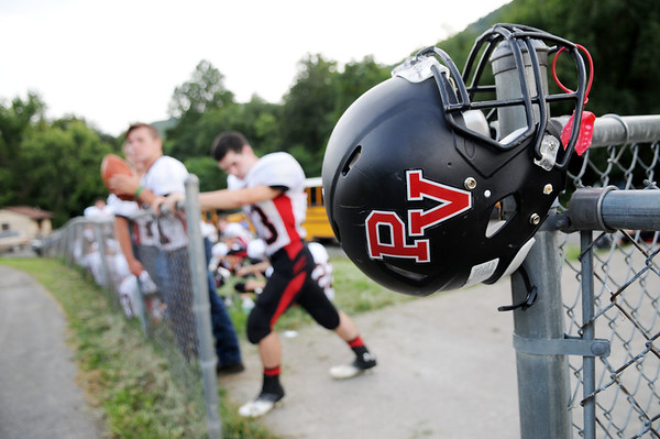 Summers County hosts PikeView during their high school football game Friday in Hinton  (Chris Jackson/The Register-Herald)