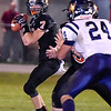 (Brad Davis/The Register-Herald) Summers County's Tucker Lilly against Greenbrier West Friday night in Hinton.