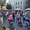 (Brad Davis/The Register-Herald) Another massive crowd hit the streets this year during Beckley's annual Chili Night event Saturday evening.