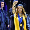 (Brad Davis/The Register-Herald) Graduating Nicholas County High School's 103rd Commencement Ceremony Sunday afternoon at the Summersville Arena.