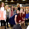 (Brad Davis/The Register-Herald) The Wyoming East Lady Warriors pose for a quick photo during the Big Atlantic Classic Tip-Off Banquet Sunday afternoon at the Beckley-Raleigh County Convention Center.