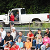 People watch the Summers County football game at their parked Ford truck Friday in Hinton  (Chris Jackson/The Register-Herald)