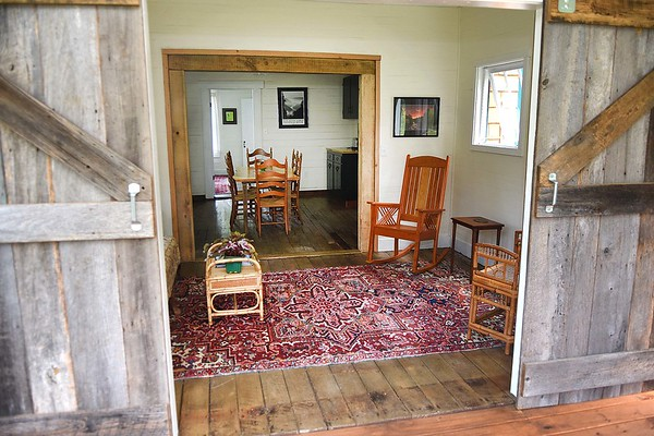 Five Springs Farm Guesthouse owned by Pamela Bailey on Shelter Road in Fayetteville.<br /> (Rick Barbero/The Register-Herald)