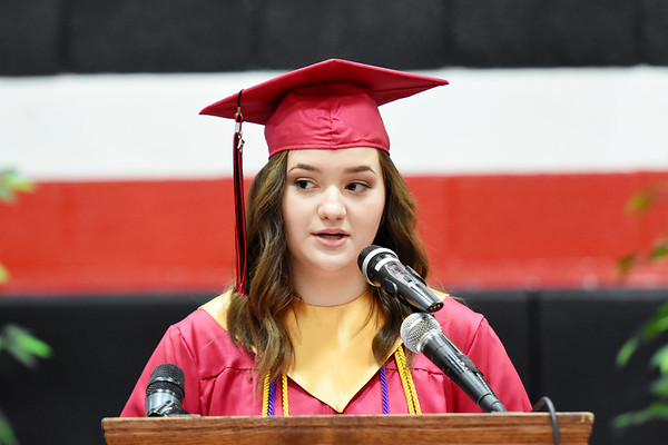 Oak Hill's Class of 2017 commencement held Friday in Oak Hill. (Chris Jackson/The Register-Herald)
