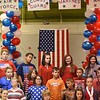 "Fifth grade class sang, ""We Remember"" during a Vereran's Day program held at Lester Elementary School Wednesday afternoon.<br /> (Rick Barbero/The Register-Herald"