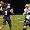 (Brad Davis/The Register-Herald) Independence quarterback Adam Daniels against Shady Spring September 15 in Coal City.