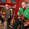 (Brad Davis/The Register-Herald) Musicians Patrick O'Flaherty & Brendan Sheridan perform inside Irish Pub following Lewisburg's shortest St. Patrick's Day Parade Friday evening.