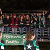 The Fayetteville Fanatics cheer on their team.