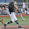 (Brad Davis/The Register-Herald) Marshall's Shane Hanon drives in a run during the bottom of the first inning of the Thundering Herd's win over Florida International Friday evening at Linda K. Epling Stadium.