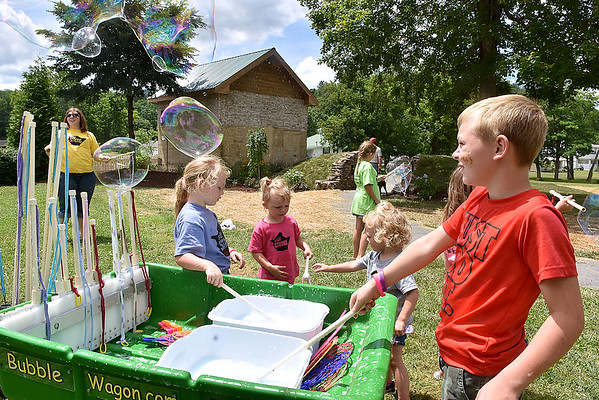 (Brad Davis/The Register-Herald) Scenes from White Sulphur Springs' Family Fair Saturday afternoon.