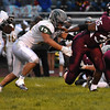 Woodrow Wilson vs Greenbrier East Friday night at Van Meter Stadium in Beckley.<br /> (Rick Barbero/The Register-Herald)