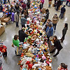 (Brad Davis/The Register-Herald) The scene at this year's annual Mac's Toy Fund event Saturday morning at the Beckley-Raleigh County Convention Center.