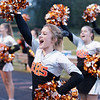 Richwood cheerleaders keep the crowd fired up. Chad Foreman for the Register-Herald.