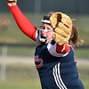 (Brad Davis/The Register-Herald) Independence starting pitcher Savannah Bragg delivers during the Patriots' win over Fayetteville Wednesday evening at Fayetteville Town Park.