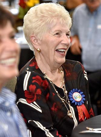 (Brad Davis/The Register-Herald) Longtime, retiring Plaza McDonald's employee Jessie Wolfe during her retirement party September 19 at Black Knight.
