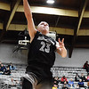Jacob Ellis (23) puts a layup during the fourth quarter of their Big Atlantic Classic Tournament game against Bluefield Tuesday in Beckley. (Chris Jackson/The Register-Herald)