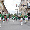 Members of the Fayetteville High School marching band perform during their homecoming parade in Fayetteville on Friday. (Chris Jackson/The Register-Herald)