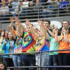 The Westside student section cheers on their side during the first half of their basketball sectional championship against Oak Hill Thursday in Beckley. (Chris Jackson/The Register-Herald)