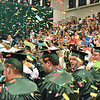 (Brad Davis/The Register-Herald) Scenes from Wyoming East's 2018 commencement ceremony Sunday afternoon in New Richmond.