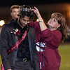 Hamza Jafarg is crowned the Homecoming King. Chad Foreman for the Register-Herald.
