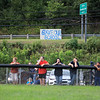 "A sign that reads ""Save Our School"" is hung along Rt. 60 in Smithers as Valley hosts Fayetteville. (Chris Jackson/The Register-Herald)"