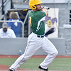 (Brad Davis/The Register-Herald) Miners hitter Frankie Jezioro triples prior to scoring on the next at-bat off a single from teammate Paul DeBlunt during their game against Chillicothe Friday night at Linda K. Epling Stadium.