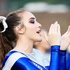 Valley cheerleaders cheer on their side against Fayetteville Friday in Smithers. (Chris Jackson/The Register-Herald)