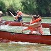(Brad Davis/The Register-Herald) Scenes from the annual Alderson Canoe Races Sunday afternoon, part of the town's yearly 4th of July festivities.