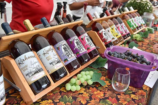 (Brad Davis/The Register-Herald) Kirkwood Wine Festival September 16 in Summersville.