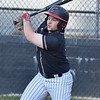 (Brad Davis/The Register-Herald) Greater Beckley Christian's Samuel Bosley drives a pitch deep against Mount View Wednesday evening at Park Middle School.
