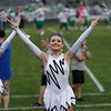 Richwood baton twirlers entertain the crowd. Chad Foreman for the Register-Herald.