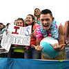 Independence fans celebrating after ther team scored a touchdown in the first half against Midland Trail Friday night at Independence High School.<br /> Rick Barbero/The Register-Herald)