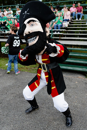 The Fayetteville Pirate keeps the fans rowdy. Chad Foreman for the Register-Herald.
