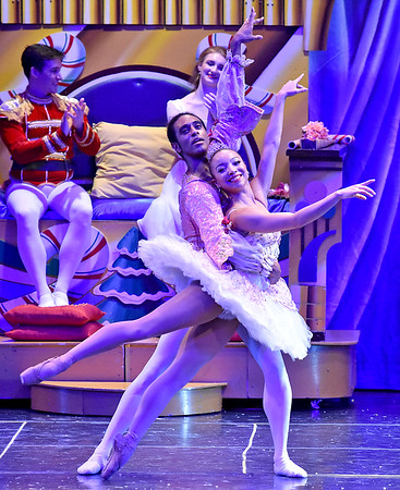 (Brad Davis/The Register-Herald) Scenes from Beckley Dance Theatre and Beckley Perform Arts' 2018 production of The Nutcracker Friday night in the Woodrow Wilson High School Auditorium.