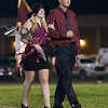 Members of the Homecoming Court make their way on to the field. Chad Foreman for the Register-Herald.