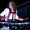 The Midland Trail quads drummer keeps the beat. Chad Foreman for the Register-Herald.