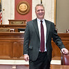 (Brad Davis/The Register-Herald) Speaker of the House Tim Armstead poses for a quick photo during a Register-Herald visit to his office March 22 at the State Capitol Complex.