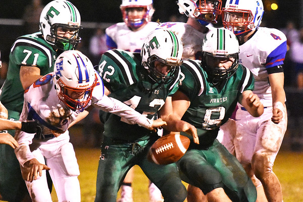 Fayetteville hosted Midland Trail football game Friday in Fayetteville. (Chris Jackson/The Register-Herald)