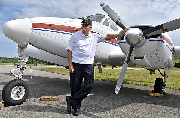 (Brad Davis/The Register-Herald) Retired Navy pilot Herbert Wheeler has 187 combat missions in Vietnam between August 1968 and May 1970 to his credit to go along with seven and a half months in Desert Storm before retiring as a National Guard Wing Commander in Charleston in 2000. On his 199th mission in Vietnam, his plane went down in northern Laos. He was eventually rescued, but his co-pilot was taken prisoner and was ultimately one of only a handful of captured pilots out of hundreds in Laos to ever return home sometime later. He currently serves as VP of the board at the Raleigh County Airport.