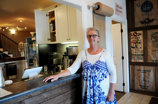 Appalachian Coffee House owner Debbie Bounds at the shop in Mt. Nebo. (Chris Jackson/The Register-Herald)