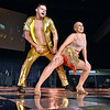 (Brad Davis/The Register-Herald) Robert Dunlap and Tracy Culicerto, eventual 1st Place winners for Judge's Choice, perform during the United Way of Southern West Virginia's Dancing With the Stars fundraising event Friday night at the Beckley-Raleigh County Convention Center.