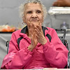(Brad Davis/The Register-Herald) 100-year-old Loretta Shellow Saturday afternoon.