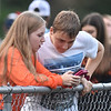 Summers County students wait before kickoff<br /> during their high school football game against Shady Spring Friday in Hinton. (Chris Jackson/The Register-Herald)