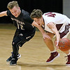 (Brad Davis/The Register-Herald) Woodrow Wilson's Danny Bickey steals the ball from Riverside's Gage Lanham at mid court Wednesday night at the Beckley-Raleigh County Convention Center.