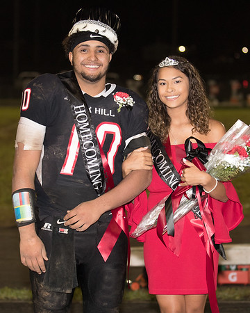 Oak Hill Homecoming King and Queen. Chad Foreman for the Register-Herald.